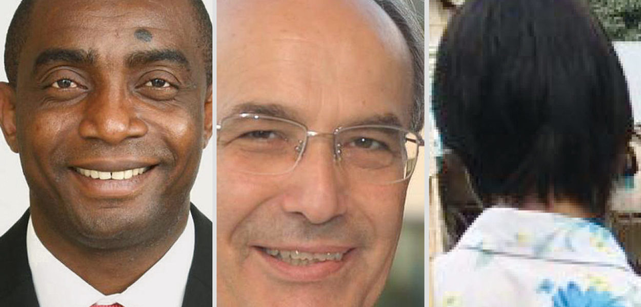 Nos trois orateurs Franklyne Ogbunwezeh, Nabil Antaki et Kakreh Moo. (csi)