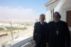Ignace Ephrem II Karim, patriarche de l'Église syriaque-orthodoxe, avec John Eibner de CSI. (csi)