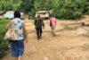 Le camp de déplacés dans la jungle du Myanmar d'où viennent les vingt-huit enfants karen chrétiens soutenus par CSI. (csi)
