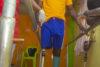 Lors d'une attaque islamiste, le chrétien nigérian Victor Markus a perdu sa jambe droite. Des dons de CSI l'aident à retrouver une vie normale. (csi)